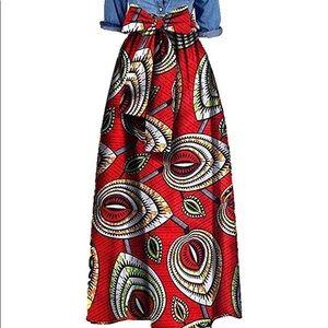 Dresses & Skirts - Mariama Dashiki Skirt