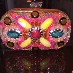 Embellished Lulu Townsend Clutch