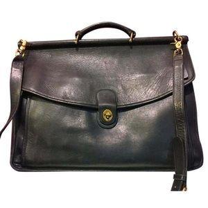 Coach vintage briefcase laptop bag 5266