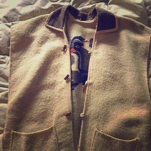 Vintage woolen vest