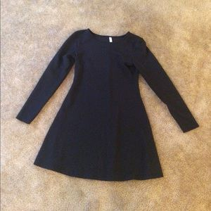 Xhilaration Black Skater Dress