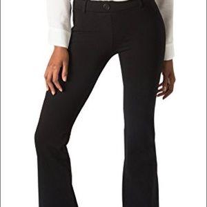 96ab40b6b3a Ashley Graham Showstopper Balconet Bra BetaBrand Black Bootcut Yoga Dress  Pants ...