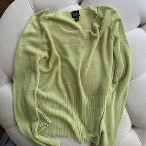 Eileen Fisher Linen Sweater Size XL