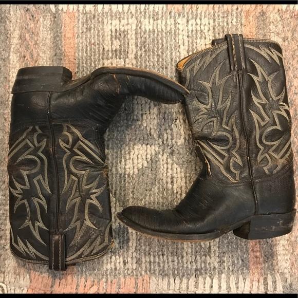 5dbcaf8f106 Vintage Biltrite Neoprene Black cowboy boots