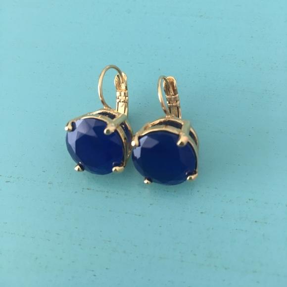 Kate Spade Jewelry Sapphire Earrings Poshmark