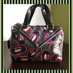 L.A.M.B💋Kiss Me💋Worthington Satchel Handbag MINT