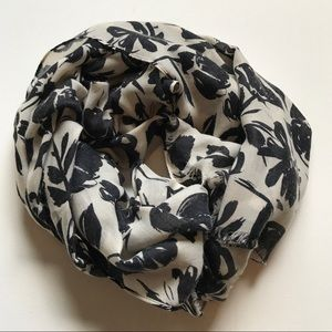 J.Crew floral scarf