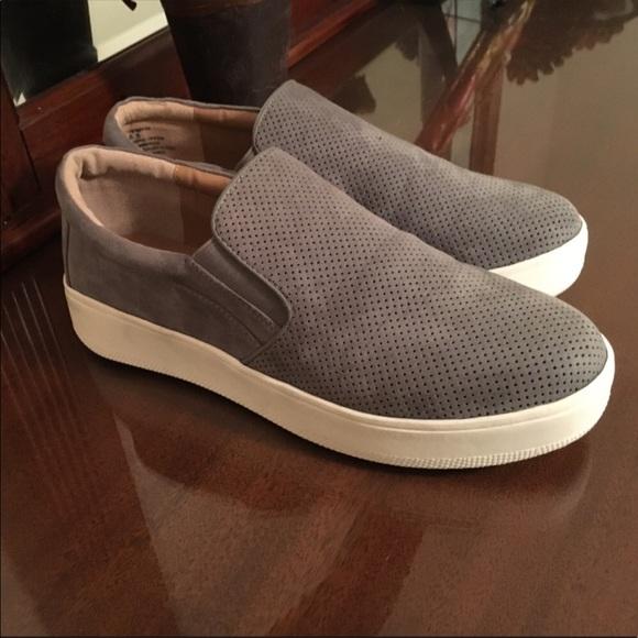 3d80e21fa42 Steve Madden Gray Genette Slip On Platform Sneaker.  M 59beb3b39c6fcfabd70865be