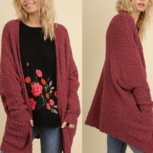 LAST TWO! NWT oversized cardigan sweater coat