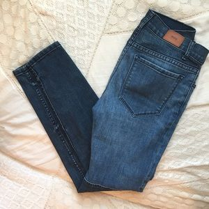 Urban Outfitters Two-Toned Mid-Rise Jeans