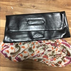 Free scarf with clutch!