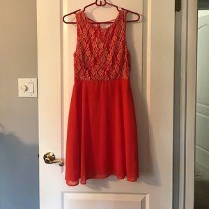 Medium Orange Dress from YA Los Angeles