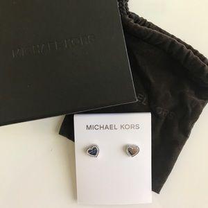 Michael Kors | Heritage Hearts Earrings | NWT