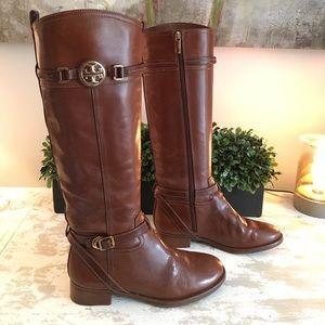 Tory Burch Calista Riding Boots sz 8