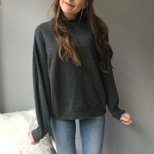 Tommy Hilfiger Gray Crewneck Sweatshirt
