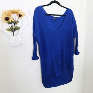Women's Royal Blue Oversized Sweater on Poshmark