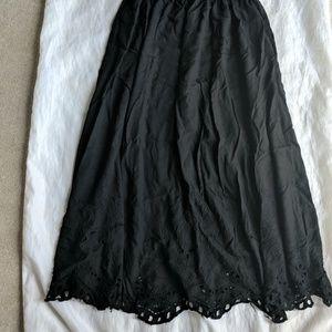 Vintage Tea Length Skirt