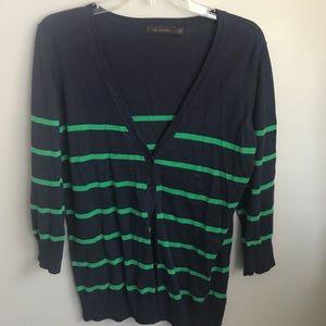 Limited striped cardigan