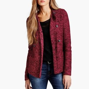 Lucky Brand Marled Sweater Jacket