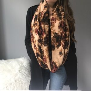 Rose/Floral Infinity Scarf