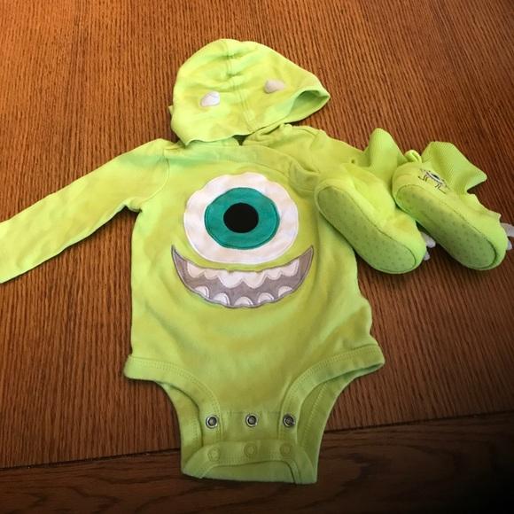 Disney Costumes Monsters Inc Mike Wazowski Halloween Costume Poshmark