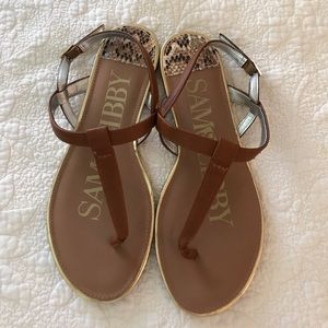 NWOT Sam and Libby sandals
