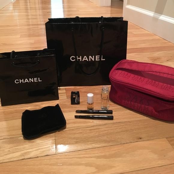 f244497dcccc CHANEL Makeup | Bundle Of Saks Fifth Avenue | Poshmark