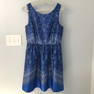 The Limited blue formal dress