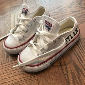 "Converse customized ""Dylan"" sneakers"