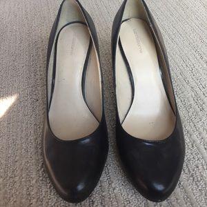 Black basic heels