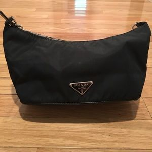 Well Loved Black PRADA Nylon Purse
