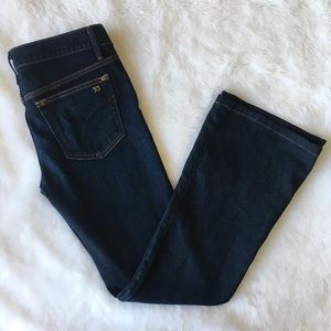 Joe's Jeans Flare Visionaire Dark Jeans 27