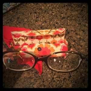 Vera bradley prescription frames and case