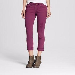 Dollhouse Jeans Roll-Up Skinny Capri