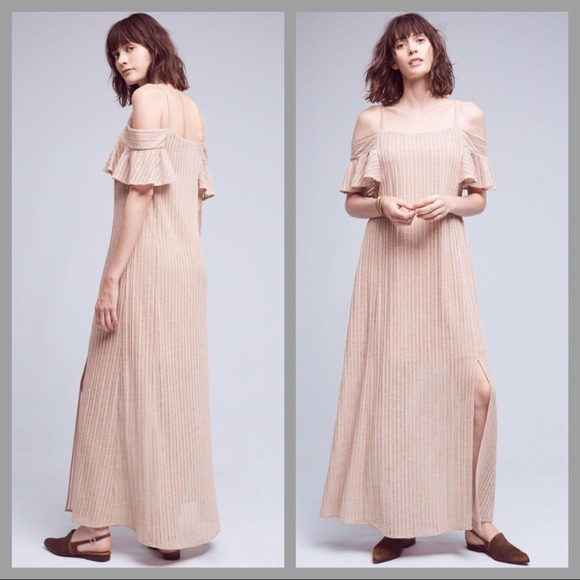 3a3fa55457 Nwt Anthropologie moon river Sahara maxi dress