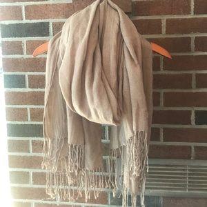 H&M scarf beige