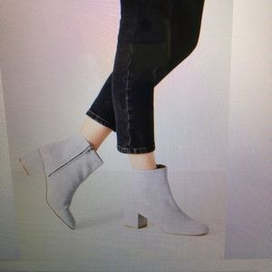 Urban outfitters, Thelma Grey Suede Ankle Boots