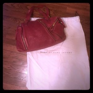 Marc Jacobs Shapeshifter Pink and Gold Handbag