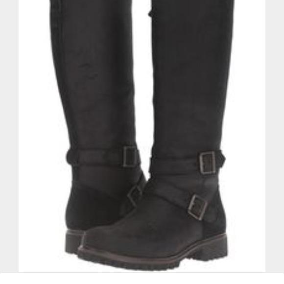 55596cf8157 Timberland Women's Wheelwright Tall Buckle Boots NWT