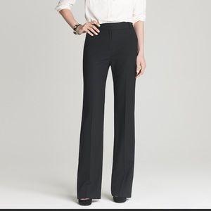 NWT black J.Crew Hutton Trouser pants, size 2