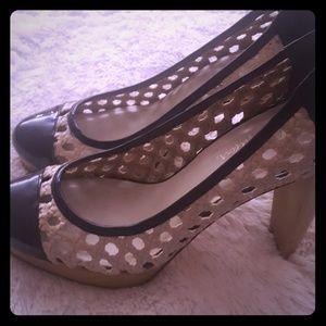 Cole Haan Nike Air platform heels