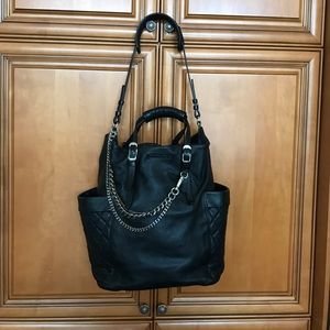 Jimmy Choo Black Leather Handbag