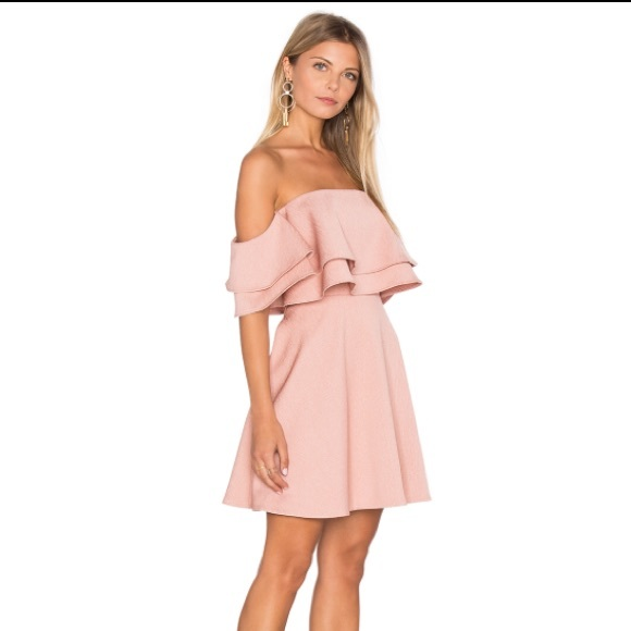 c1c67670667 KEEPSAKE the Label Dresses   Skirts - Revolve Keepsake Two Fold Mini Dress  in Dusty Pink