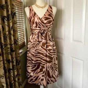 🔥Marc by Marc Jacobs Silk Animal Print Dress