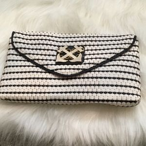 Lilly Pulitzer nautical themed clutch