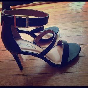 Anne Michelle strappy black heels