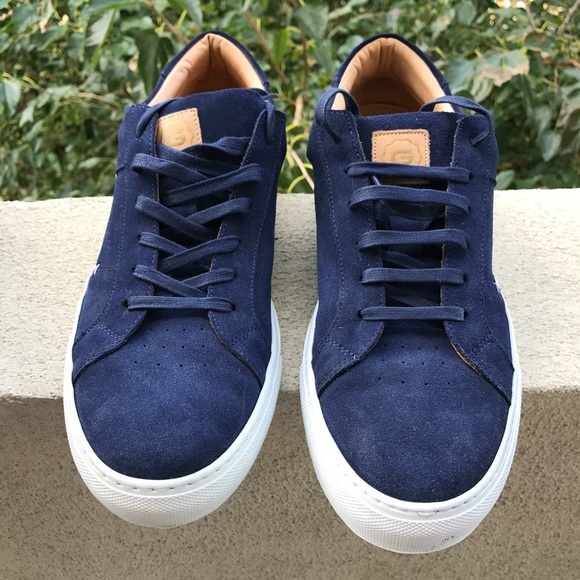bd35473e4b8 GREATS Other - GREATS  The Royale  Men s Suede Sneakers ...