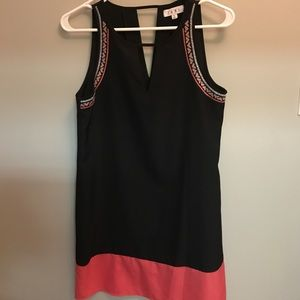 Black THML dress with side and bottom detail