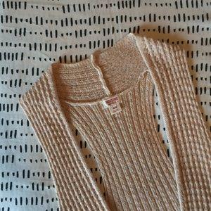 """Chunky Knit """"Maxi"""" Vest"""