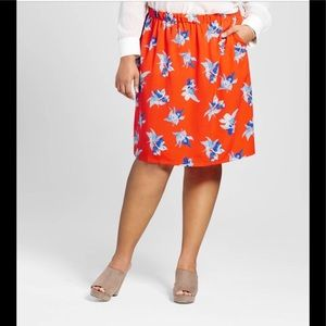 Dresses & Skirts - 🎉Host Pick🎉 Fall Printed floral skirt